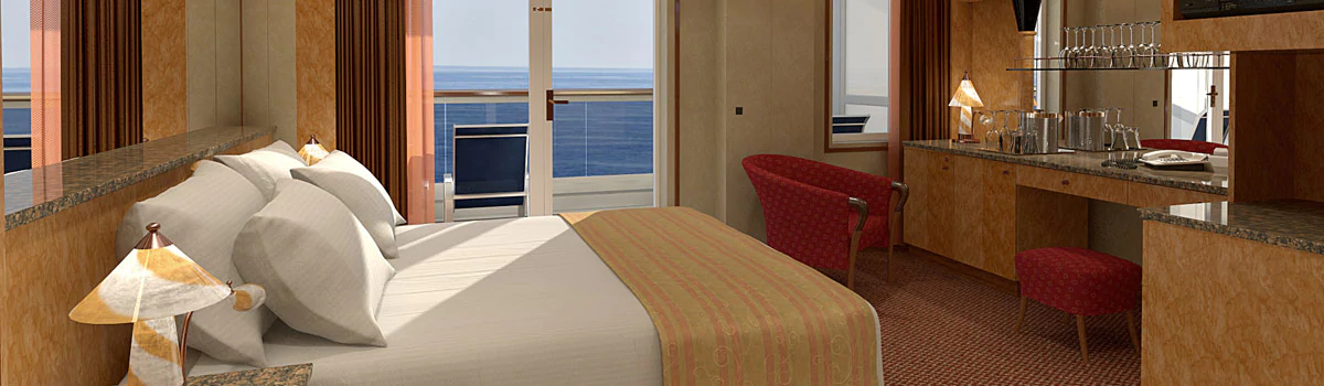 carnival miracle balcony room Club 1 Hotels